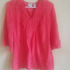 CHICO pink blouse